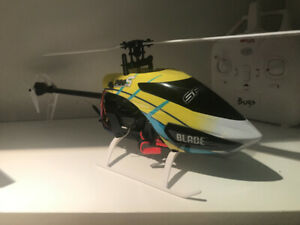 Blade 200S RC helicopter with Spektrum DX radio...
