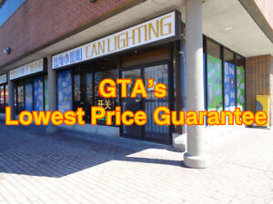 LED Pot Light, LED Wholesaler, GTA Lowest Price Guarantee