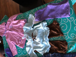 Baby girl size 6-9 months, clothing lot