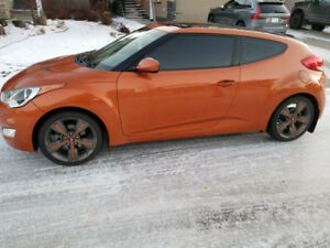 2013 Hyundai Veloster with Winter&Summer Tires&Rims, Low Km's