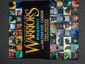 WARRIORS paperbacks + Ultimate guide hb