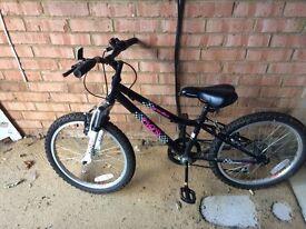 "20"" girls' Apollo Chaos bike"