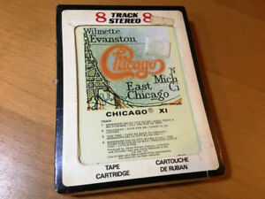 Chicago XI eleven 8 track tape NEW, SEALED