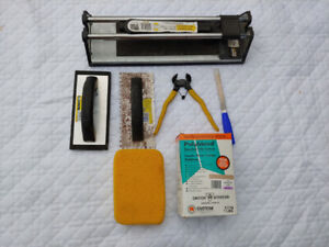 Ceramic Tile Cutter and Accessory Items
