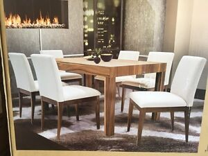 BRAND NEW table with 6 chairs!!