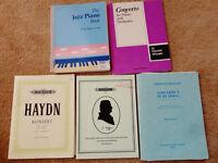 PIANO BOOKS