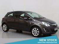 2014 VAUXHALL CORSA 1.2 Excite [AC] Bluetooth Aux Mp3 Input Low Insurance