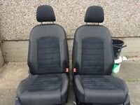 2015 gt golf 3dr front seats ideal for upgrading caddy seats