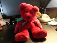 Beanie Buddy Cranberry 1998 Limited Edition