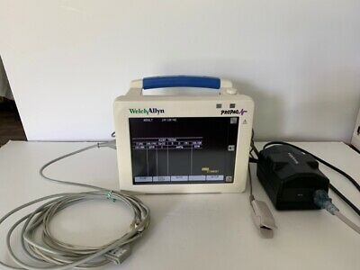 Welch Allyn Propaq Cs Model 242 - Ecg Nellcor Spo2 Nibp Printer 2t - Biomed
