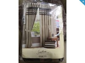 Brand New Set Of Curtains Still Packaged