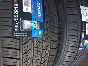 $140 – 235/55/19 NEW  Sport Tires free installation