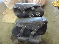 Vulcan saddle bags and parts