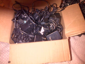 Electronic Adapters/chargers. Many varieties.