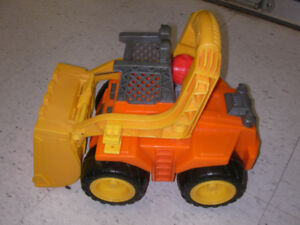 Fisher Price collectible Tuff Rumblin Front Loader
