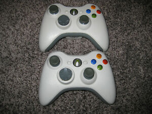 2 XBOX 360 WIRELESS CONTROLLERS $20 EACH