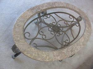 marble/glass coffee table London Ontario image 1