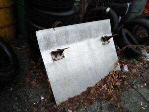 trailer ramp loading dock plate
