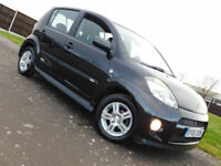 2006 DAIHATSU SIRION 1.3 SX 5 DOOR BLACK**NEW MOT**2 OWNERS