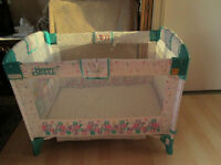 evenflo playpen and baby's 1st booster seat