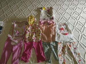 lot baby clothes 9m / lot vetements bebe fille 9m