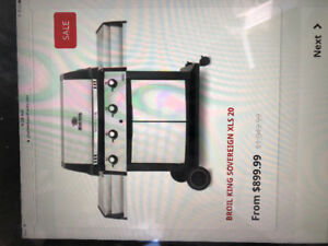 Brand new BBQ  Broil King Sovereign XLS20