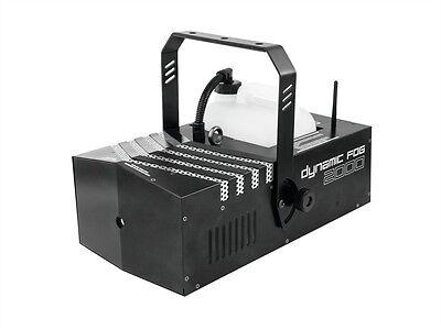 EUROLITE Dynamic Fog 2000 DMX-Nebelmaschine mit Timer + - Nebelmaschine Mit Timer