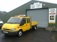 Ford Transit 2.4TDI ( 90PS ) Crewcab Tipper ** EX COUNCIL ONLY 92K MILES**