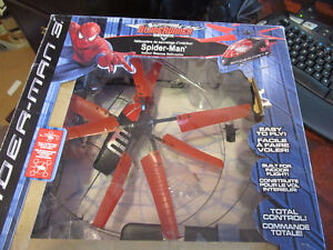 spider-man rc helicopter  indoor toy