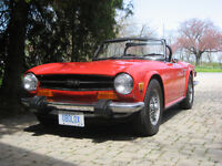 TR6 Classic Christmas Red