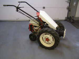 Tracteur Gravely  2 roues
