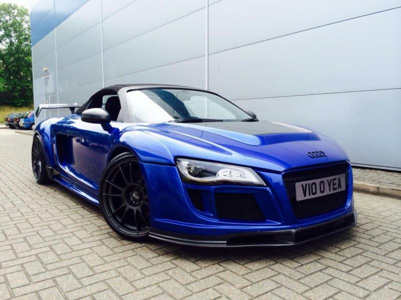 Audi Revo 2010 10 Audi R V10 Spyder Wide Body Styling Kit