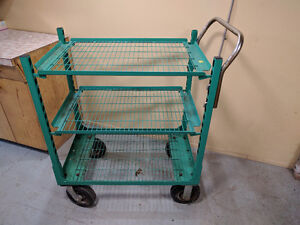 Wellmaster 3 Tier Garden Center Cart