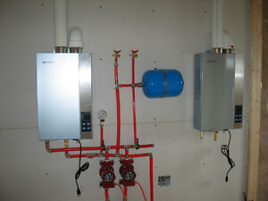 TANKLESS ON DEMAND HOT WATER HEATERS.