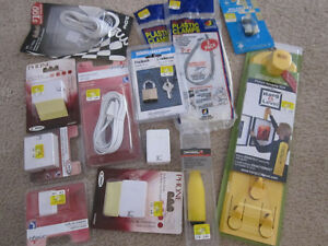 LOT 1 featuring Hang & Level Kit, Padlock, etc. - all new, boxed Kitchener / Waterloo Kitchener Area image 9