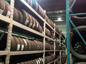 Pneus Usagés Pour L'Hiver ! Used Tires For Winter!