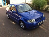 2002 VW Polo Match 1.4 64K 2 Owners 12 Months MOT Air Con Alloys