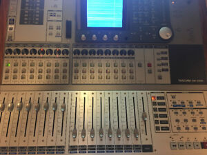 TASCAM DM-3200 Standalone Mixer & Control Surface (IF-FW/DMMKII)