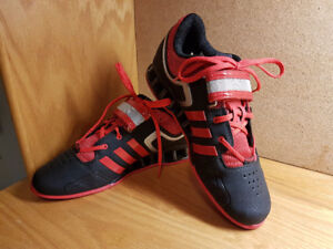 RED MEN'S ADIPOWER 2.0 WEIGHTLIFTING SHOES