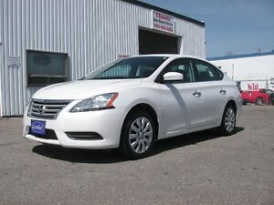2013 Nissan Sentra S CVT, LOW KMS, ACCIDENT FREE!!! $10799