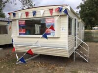Cheap 2 bed static caravan Clacton Essex not highfields 12 month season