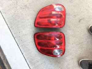 2002 Ford F-150 Factory Tail Lights