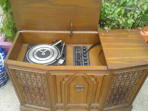 Record Player Tuner and Cabinet at The Meetinghouse!