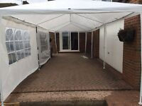 9m x 3m Marque / Gasebo used once