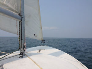 Reduced 25%! Selling restored O'day daysailer I sailboat