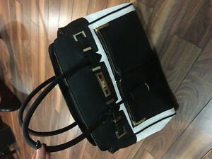 Black and white purse brand new