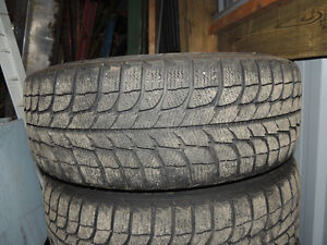 P205 65 15 MICHELIN SNOW TIRES