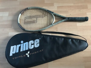 Prince tennis racquet with bag