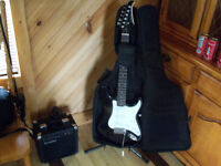 LIKE BRAND NEW BEGINNERS ELECTRIC GUITAR & AMP