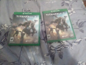 selling 2 unopened copies of titanfall 2